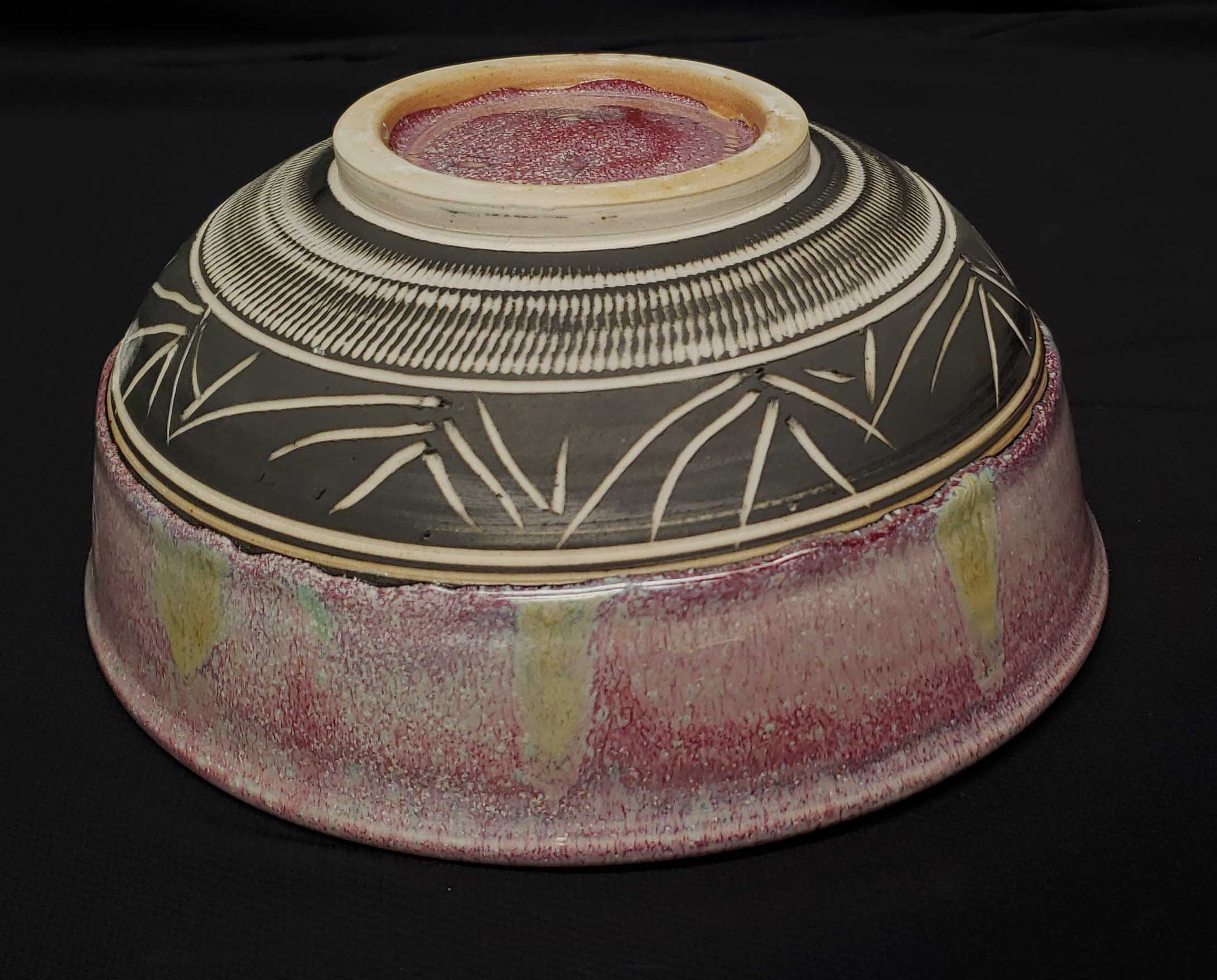 Dan Bennett porcelain bowl View 1